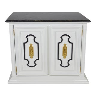 Dorothy Draper-Style Bar Cabinet For Sale