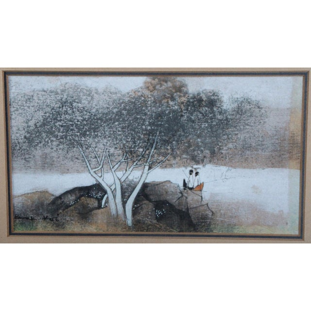 Watercolor Painting by Tay Bak Koi - Image 3 of 5