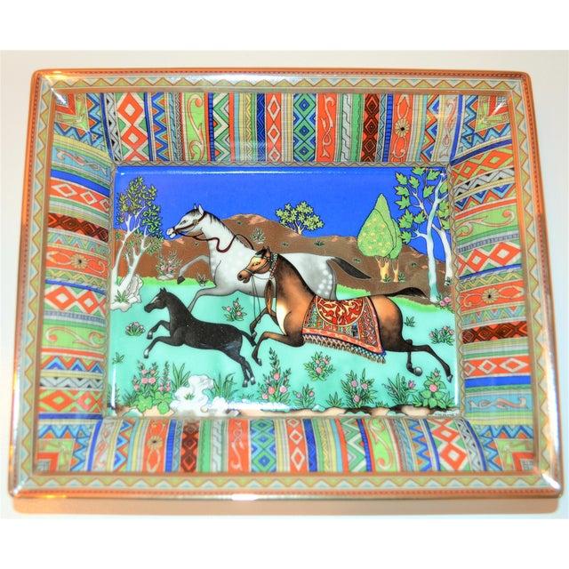 (Final Markdown) Hermès Vintage Prancing Horse Cigar Tray For Sale - Image 9 of 10