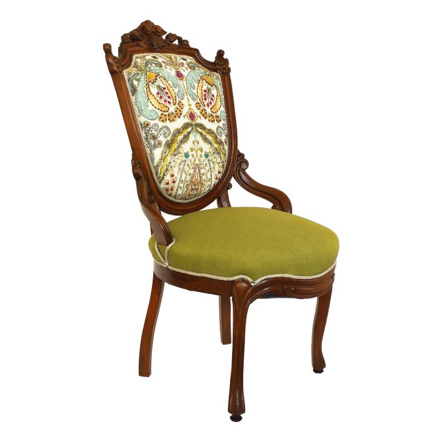 Victorian Parlor Side Chair - Image 1 of 6