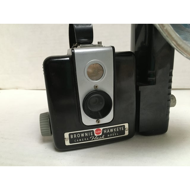 Kodak Hawkeye Brownie Camera With Flash For Sale - Image 5 of 10