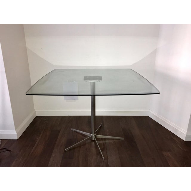 Square Glass Dining Table - Image 5 of 10