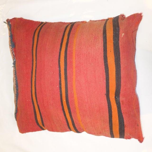 Antique Persian Kilim Pillow - Image 3 of 3