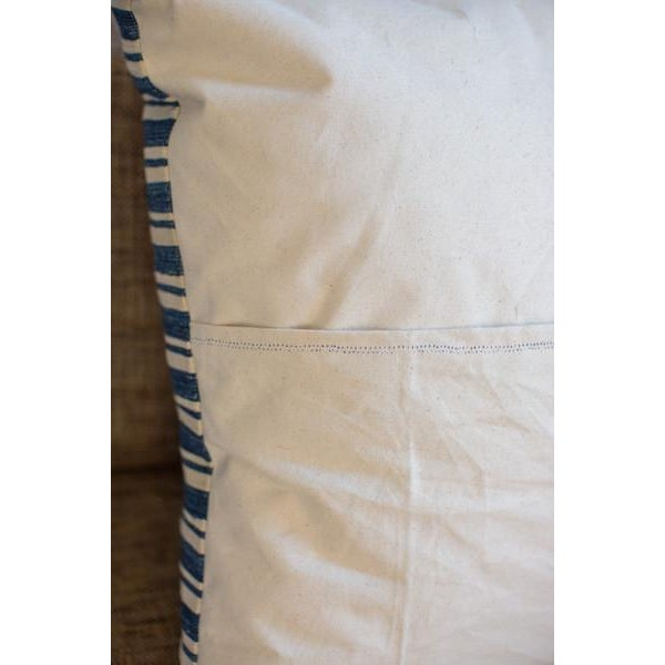 Oversize Indigo Blue Pillow - Image 6 of 6