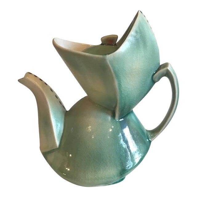 Cubist Style Contemporary Teapot by Deborah Schwartzkopf For Sale