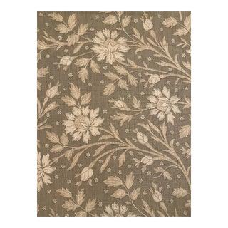 Brunschwig & Fils Verrieres Print on Linen Fabric 2 7/8 Yard For Sale