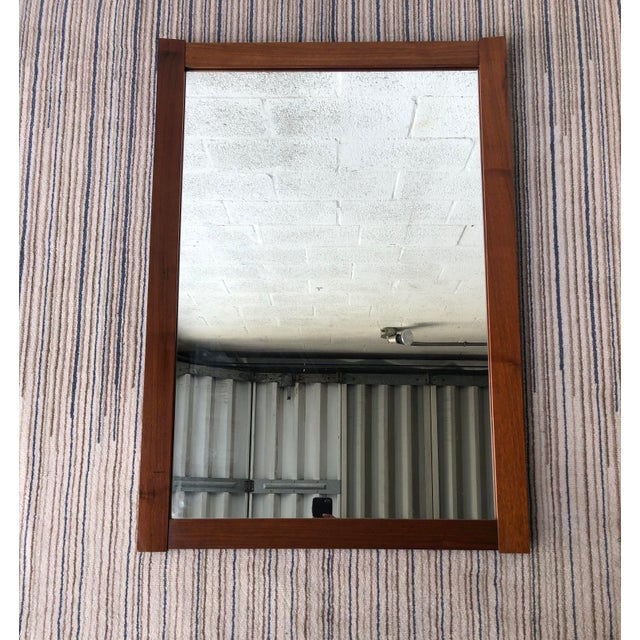 Vintage Mid Century Modern Wall Mirror. For Sale - Image 10 of 10