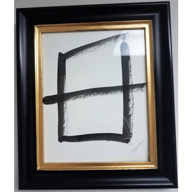 These original ink paintings make a statement as a grouping. The artwork is 8 x 11 inches and the frames are 11 x 13...