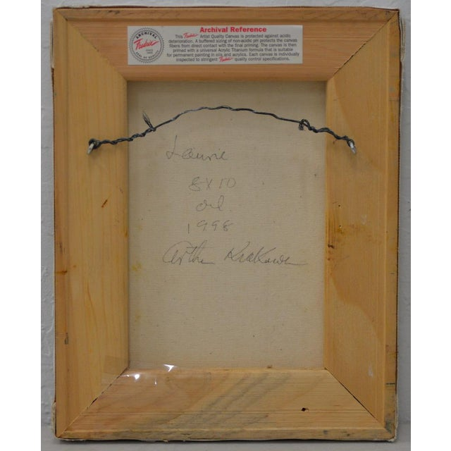 Arthur J. Krakower (1921-2009) Original oil on canvas by celebrated octogenarian artist Arthur J. Krakower. Signed, titled...