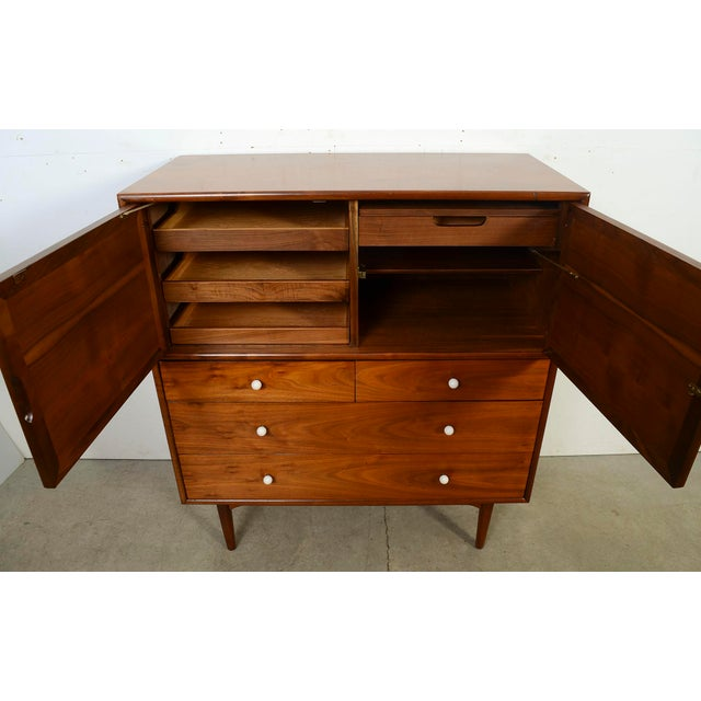 014893a0d74ab Mid-Century Modern 1950s Mid Century Modern Kipp Stewart for Drexel  Declaration Walnut Dresser For