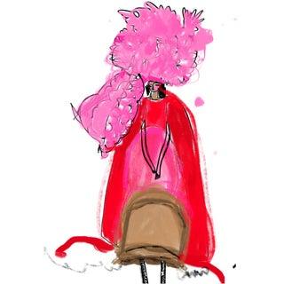 """Comme Des Garçons Couture"" Limited Edition Print by Annie Naranian For Sale"