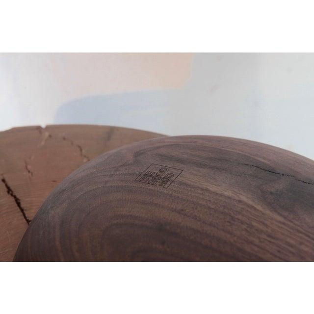 Mid-Century Modern Tgm Oregon Walnut Bowl For Sale - Image 3 of 6