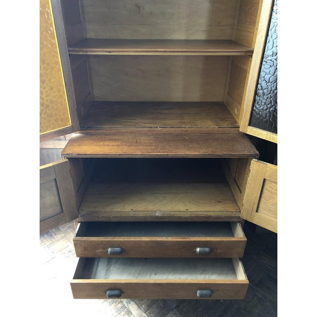 Antique Yawman and Erbe Oak Stacking File Cabinet For Sale In Chicago - Image 6 of 11