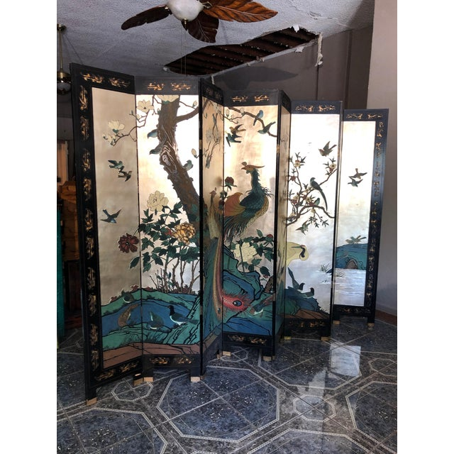 Early 20th Century 8-Panel Coromandel Screen For Sale - Image 13 of 13