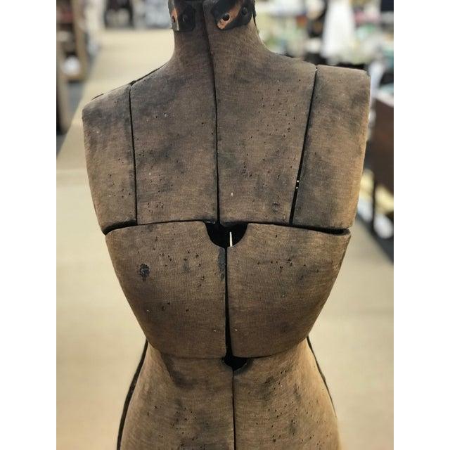 Industrial Antique Grand Rapids Dress Form Mannequin For Sale - Image 3 of 7