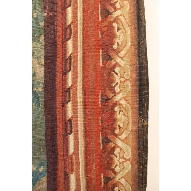 18th century Brussels tapestry signed P. Van Den Hecke.