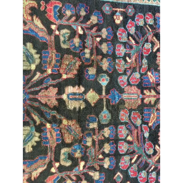 """Vintage Malayer Persian Rug - 3'10"""" X 10' - Image 4 of 9"""