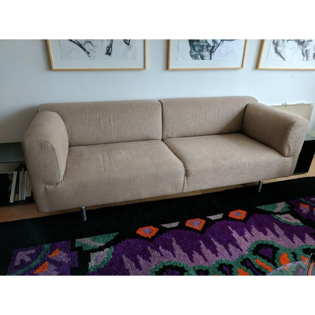 Contemporary Cassina Met 250 Beige Sofa by Piero Lissoni For Sale - Image 3 of 10