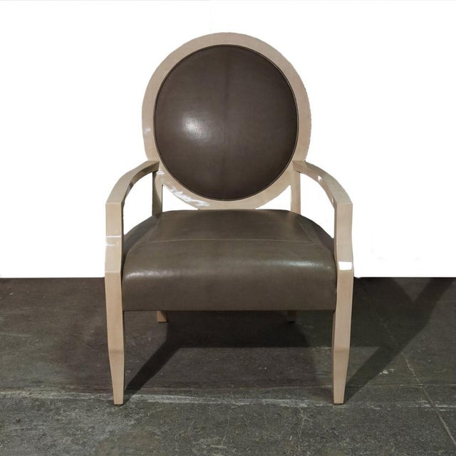 Animal Skin J Robert Scott Dining Chair For Sale - Image 7 of 7