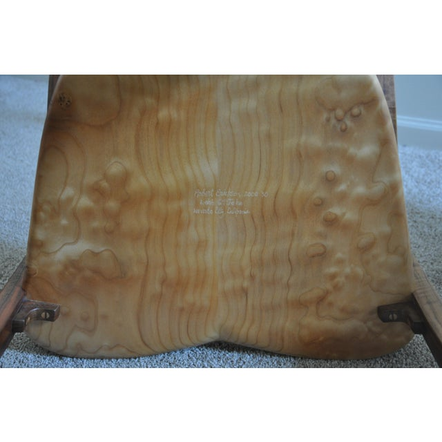 Robert Erickson Signed Van Muyden Arm Chair - Image 6 of 6