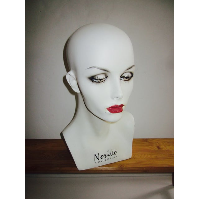Vintage Modernist Mannequin Display Heads - Pair - Image 5 of 8