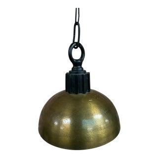 Vintage Industrial Pendant Light For Sale