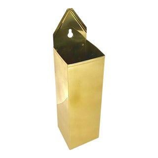 Brass Matchstick Holder For Sale