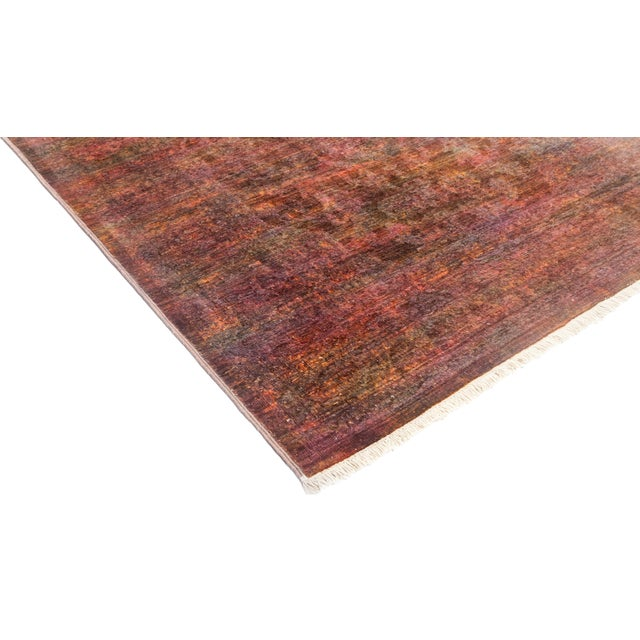 """Vibrance Hand Knotted Runner Rug - 3' 2"""" X 10' 8"""" - Image 2 of 4"""