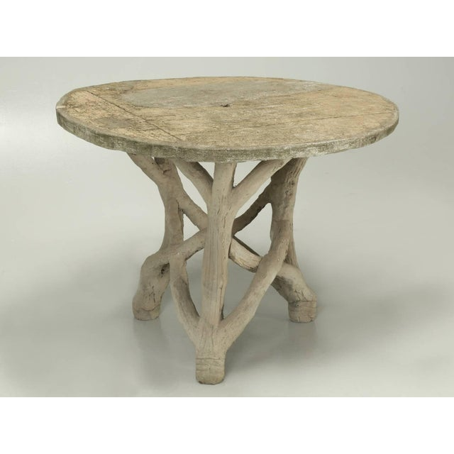 Faux Bois Table Attributed to Edouard Redont, Circa 1900 For Sale - Image 10 of 10