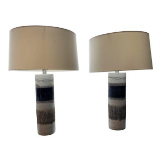 Made Good Table Lamps - a Pair For Sale