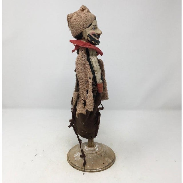 Folk Art Antique French Marionette For Sale - Image 3 of 11