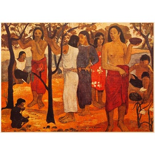 "1940s Paul Gauguin, ""Sun Magic"" Original Swiss Lithograph For Sale"