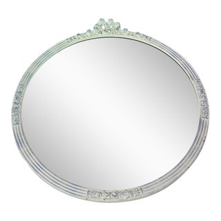 Shabby Chic Cottage Round Wall Mirror
