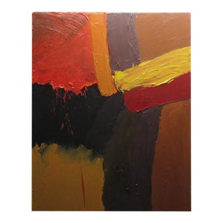 Contemporary Abstract Expressionist Acrylic Painting by Stan Edwards For Sale