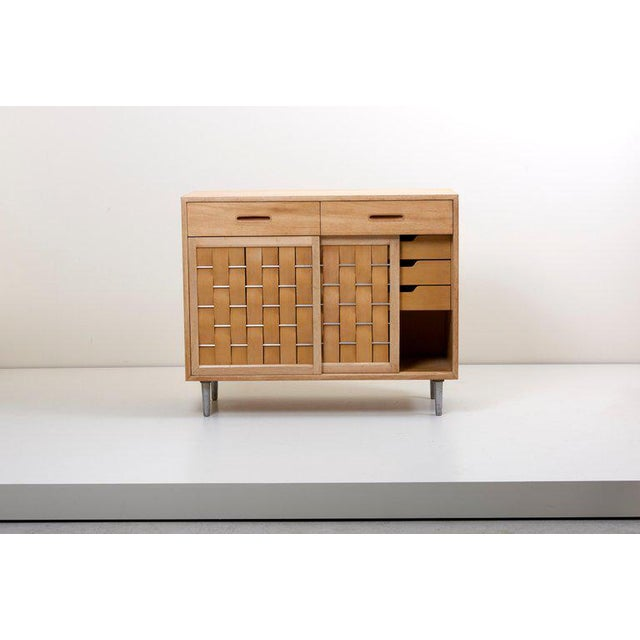 1960s Edward Wormley for Dunbar Credenza Signed, Us, 1960s For Sale - Image 5 of 12