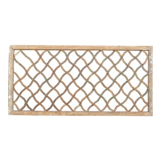 19th Century Trellis Window For Sale