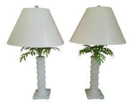 Image of Bamboo Table Lamps