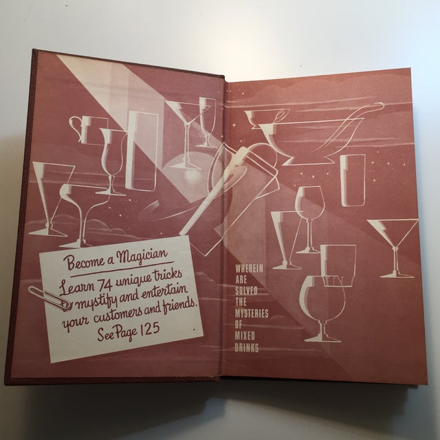 """Traditional """"Old Mr. Boston Official Bartenders Guide"""" 1955 Book For Sale - Image 3 of 9"""