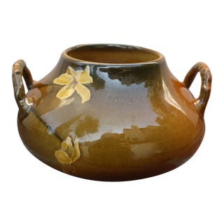 """Flowers of the Dragon"" Rookwood Pottery Pot"