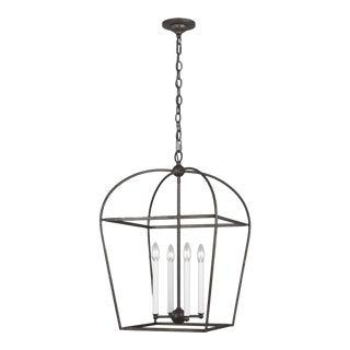 Visual Comfort Stonington Steel Lantern For Sale