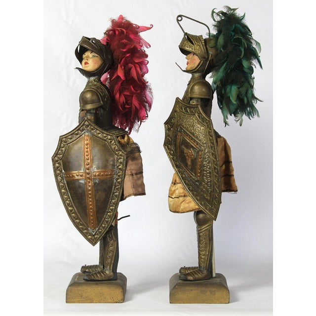 Mediterranean Pair of Mid-19th Century Sicilian Marionettes For Sale - Image 3 of 11