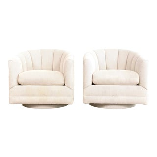 Milo Baughman for Thayer Coggin Attributed Lounge Chairs - A Pair