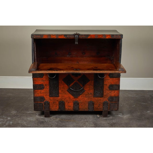 Late 19th Century 19th Century Korean Chest For Sale - Image 5 of 10