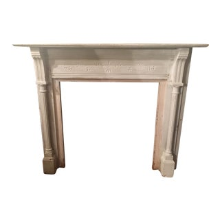 "57"" 1880s Vintage Victorian Eastlake Mantel For Sale"