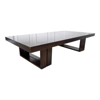 Convertible Van Keppel Green Brown Saltman Coffee Table For Sale