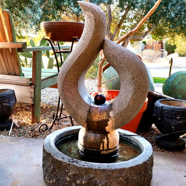 This bubbling zen fountain is the perfect addition to you indoor or outdoor patio. The sound of its bubbling water is...