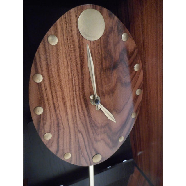 Midcentury Howard Miller Floor Clock For Sale In New York - Image 6 of 12