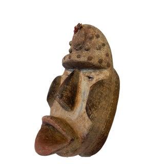 African Dan Bugle Tribe Mask I Coast For Sale