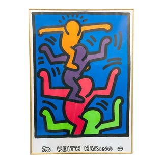 """People Tree"", Lithograph by Keith Haring"