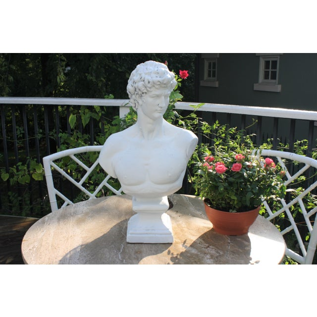 Large Scale Bust of David For Sale - Image 12 of 13